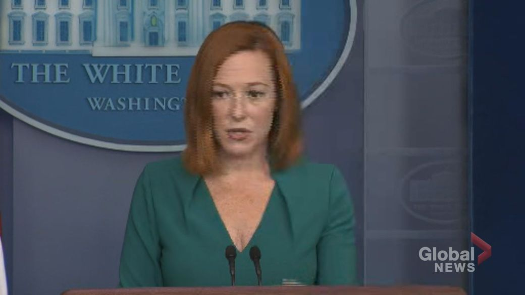 Click to play video: 'White House calls for codification of Roe v Wade in wake of 'extreme' Texas abortion law'