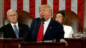 State of the Union 2020: Trump says killing of Qasem Soleimani sent message to the world