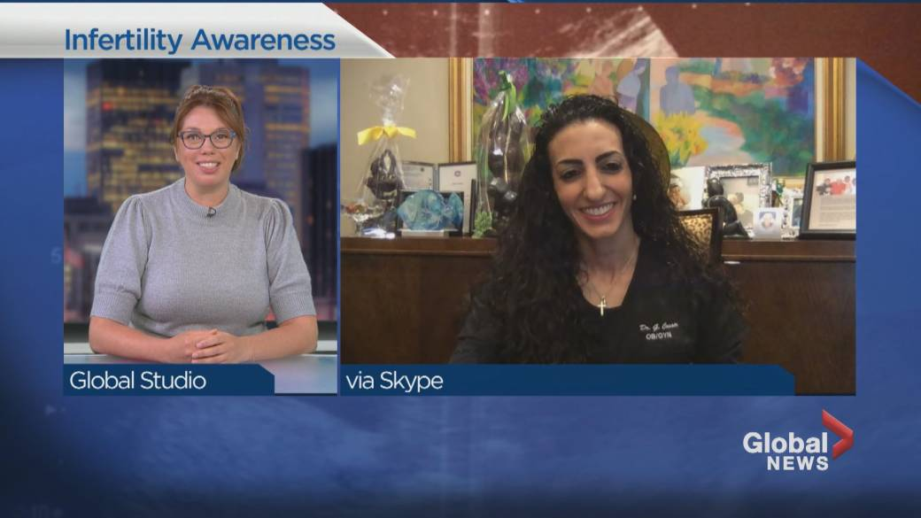 Click to play video: 'National infertility awareness week'