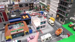 Edmonton man turns Lego hobby into dream career (02:05)