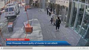 Alek Minassian found guilty of murder, attempted murder charges after 2018 van attack (03:46)