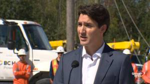 BC firefighters happy to return the favour around the world: Trudeau