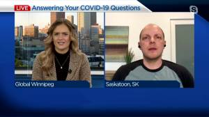 Answering your COVID-19 questions, March 4 (03:42)