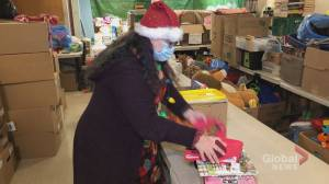 Moncton charity that provides toys for kids in need sees nearly 40% increase in sponsorship (01:58)
