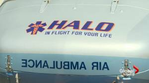 HALO Air Ambulance receives multi-year funding commitment from Cypress County (01:47)