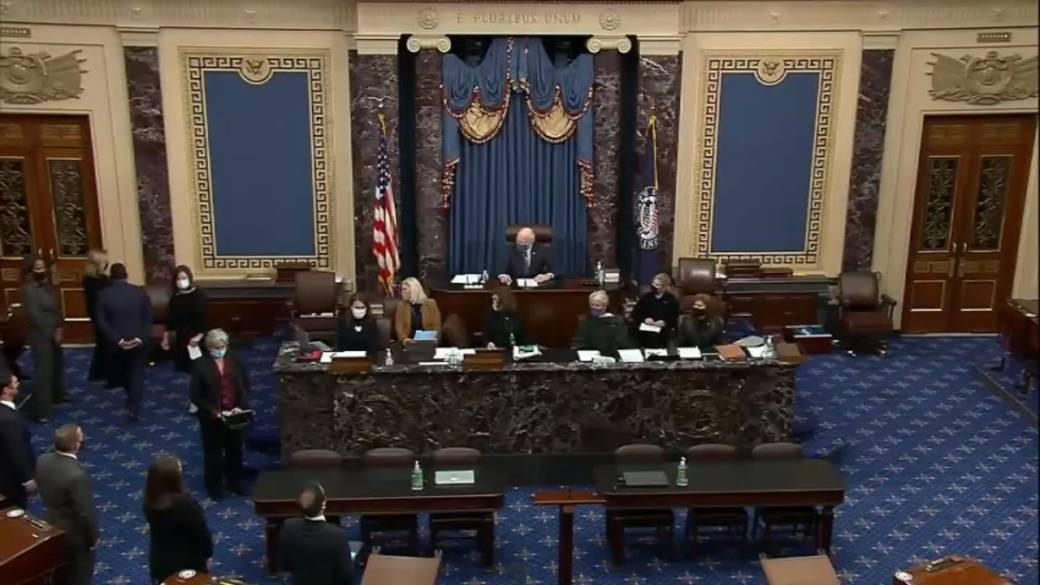 Click to play video 'Biden set for showdown in U.S. Congress over COVID-19 relief plan'