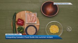 How to integrate Canada's Food Guide into meal prep this summer (05:02)