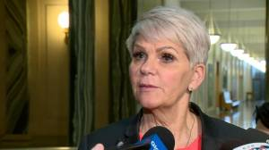 Inmates stage hunger strike, call for Saskatchewan corrections minister's resignation (01:18)
