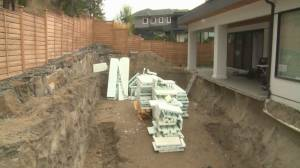 Two Okanagan families 'left in the hole' after contractor allegedly skips town (01:54)