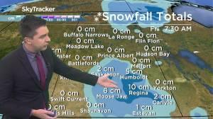 First snow of the season: Oct. 13 Saskatchewan weather outlook (02:20)