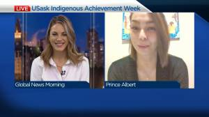 Student honoured for resiliency on USask Indigenous Achievement Week (03:39)