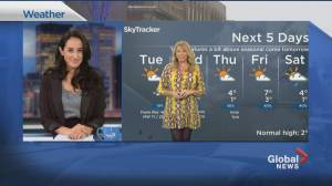 Global News Morning weather forecast: November 24, 2020 (01:56)
