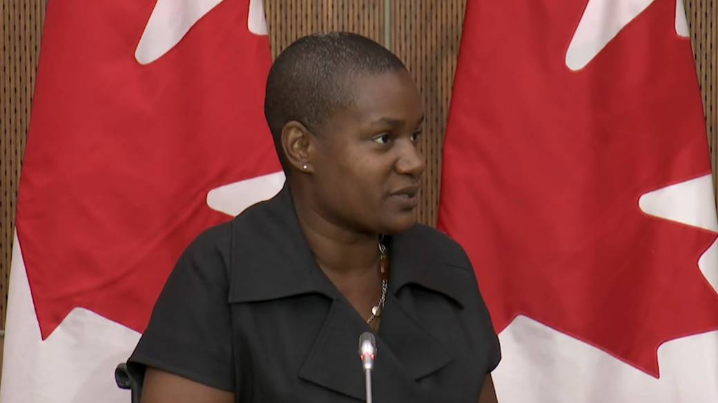 Click to play video ''What I bring is hope': Green Party Leader Annamie Paul on diversity in parliament'