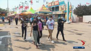 Officials optimistic heading into final weekend of 2021 Calgary Stampede (03:19)