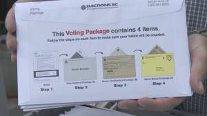 Demand for mail-in ballots in the B.C. election soars
