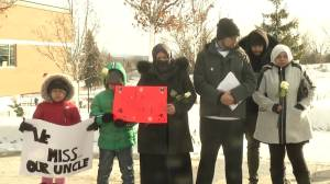 Vigil held for Soleiman Faqiri who died while in custody at Central East Correctional Centre in Lindsay