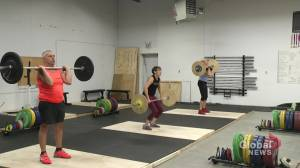 Trio of athletes in their 60s staying fit with CrossFit