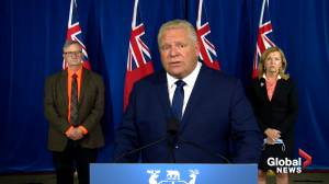 Coronavirus: Premier Ford addresses Ontario moving back to Stage 2 of reopening