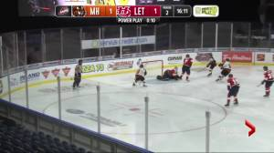 Dominant 2nd period springs Tigers past Hurricanes (01:40)