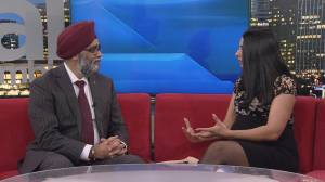 Minister of Defence Harjit Sajjan on Allied Winter Sports Camp for veterans