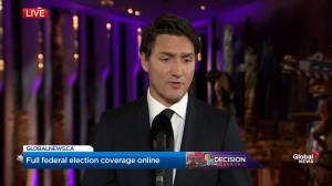 Leaders' Debate: Trudeau asked if he apologized to any world leaders over blackface scandal