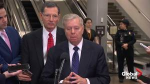 'It's best for the country to vote on the record established': Republican Senator Lindsey Graham on impeachment trial