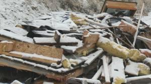 Hazardous construction material illegally dumped in North Kelowna (01:27)