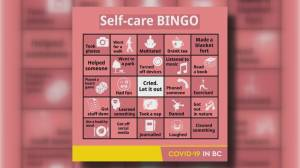 B.C. government's self-care bingo skewered (02:16)
