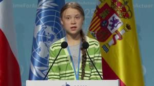 Greta Thunberg denounces world leaders' 'creative PR' in climate flight at UN summit
