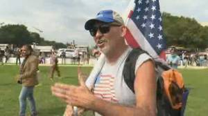 Trump supporters organize 'Justice for J6' rally at U.S. Capitol (01:32)