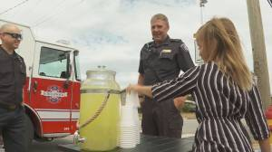 9-year-old Chilliwack girl sets up lemonade stand for Lytton wildfire victims (01:14)