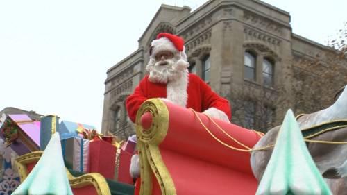 Toronto kicks off holiday season