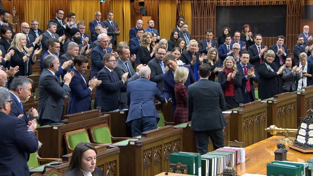Click to play video 'Ontario Tory MPs pressed Sloan to apologize for questioning top doctor's loyalties. Instead, he defended himself'