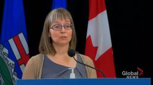 Alberta records 29 COVID-19 deaths on Tuesday (01:22)