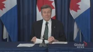 Coronavirus outbreak: Tory describes Ontario's reopening plan as 'a safe and responsible approach'