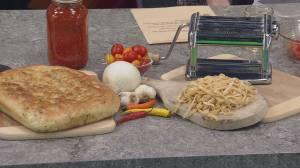 Peter Ciuffa cooks up a spicy pasta dish