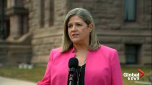 Ontario Budget 2021-22: 'Lot missing from long-term care' says NDP Leader Andrea Horwath (01:18)
