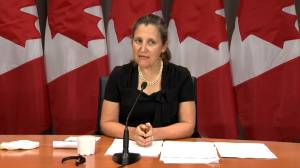 Freeland blasts 'absurd' U.S. tariffs on Canadian aluminum