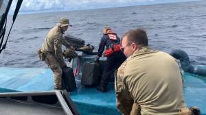 Submarine carrying cocaine Worth USD $69 million intercepted by U.S. Coast Guard