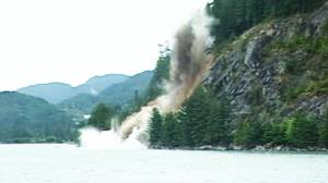 Global BC celebrates 60 years: Blasting the Sea to Sky rockslide (01:10)