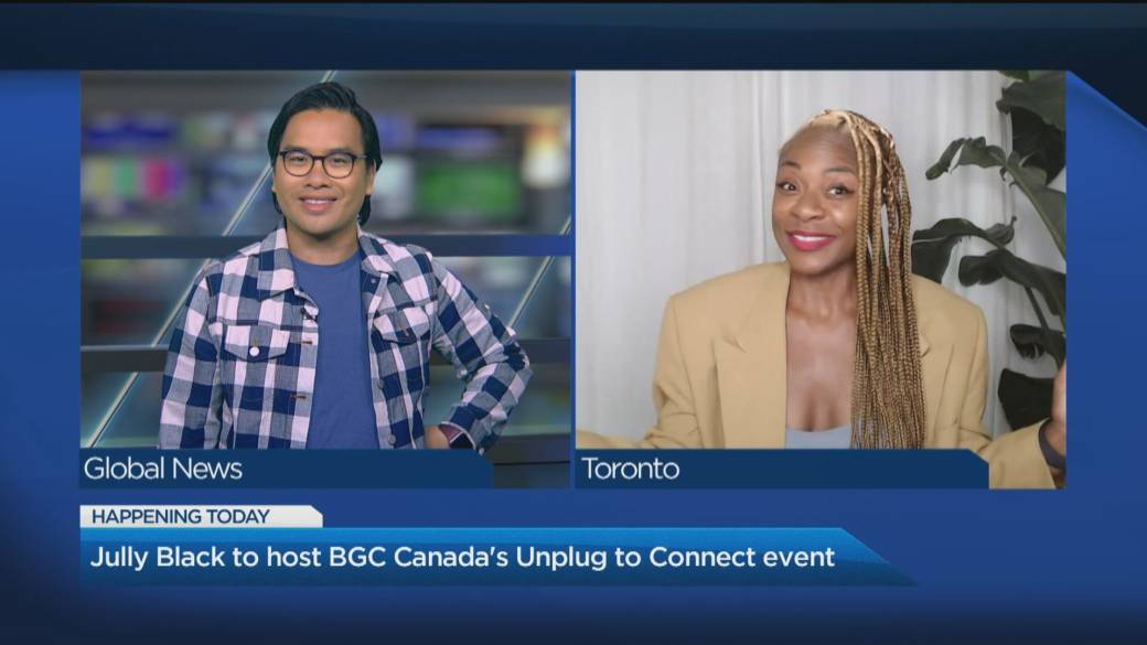 Click to play video: 'Jully Black to host BGC Canada's 'Unplug to Connect' event'