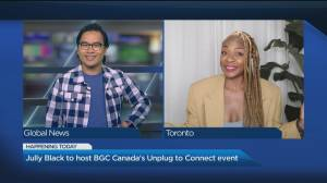 Jully Black to host BGC Canada's 'Unplug to Connect' event (04:24)