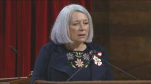 Mary Simon sworn in as Canada's first Indigenous governor general (02:20)
