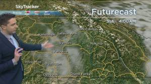 Kelowna Weather Forecast: April 15 (03:24)