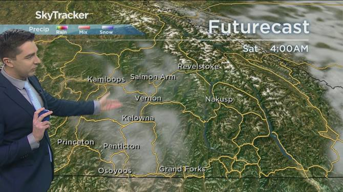 Click to play video: Kelowna Weather Forecast: April 15