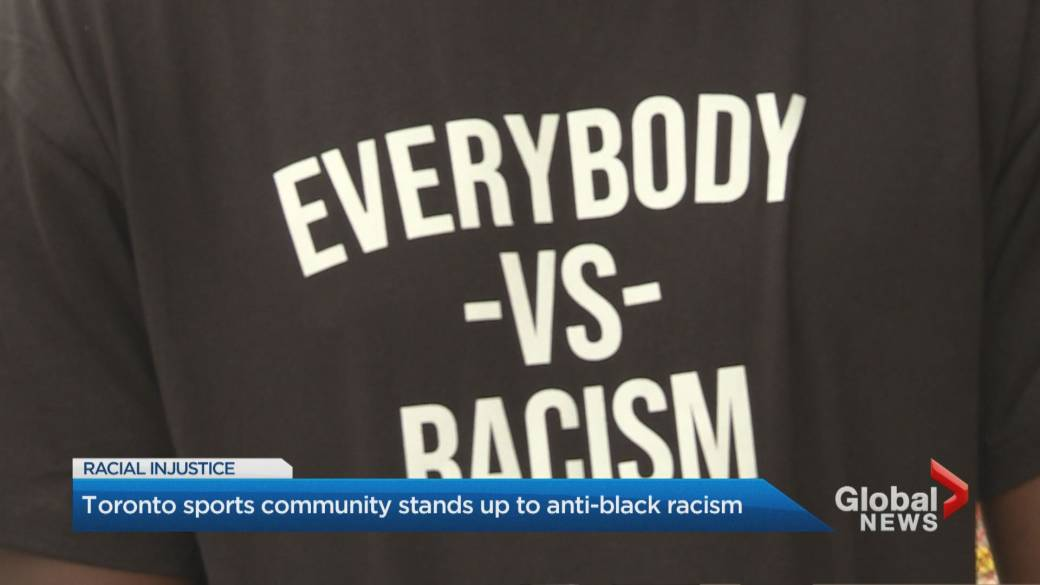 Click to play video 'Toronto's Black community reacts to Jacob Blake shooting'