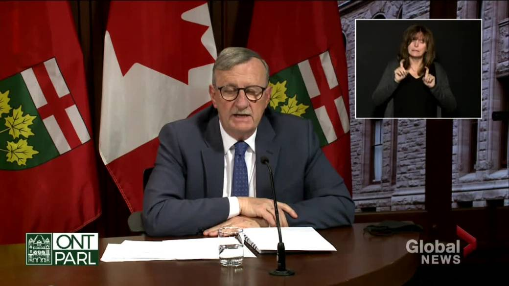 Click to play video 'Coronavirus: Ontario working to bring rapid COVID-19 tests to long-term care homes with 'full force''