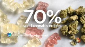Cannabis edibles popular among Canadian cannabis users: Ipsos survey (00:59)