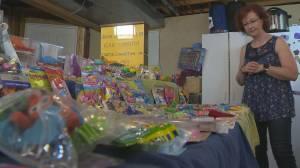 Saskatchewan woman shows off massive eraser collection (03:43)