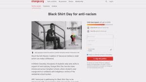 'Black Shirt Day' movement (03:20)
